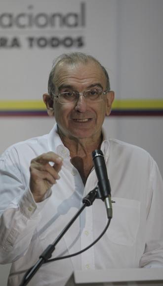 Humberto de La Calle. Foto: Ismael Francisco.