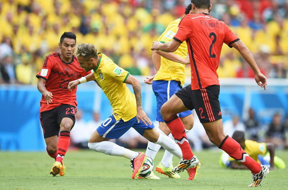 Fortaleza-Brazil contra México