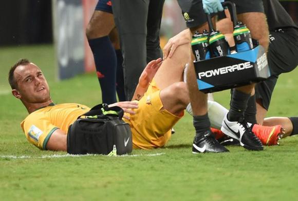 Franjic sale lesionado.