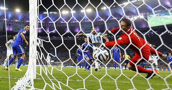 Gol de Messi Argentina ante Bosnia