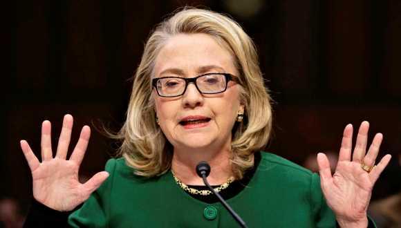 Hillary Clinton, ex secretaria de Estado de EUA.
