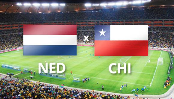 Holanda venció este lunes por 2-0 a su similar de Chile