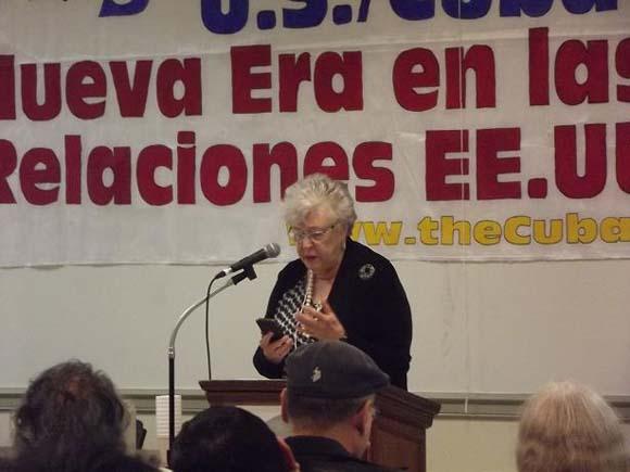 Joan Campbell en Iglesia 05JUN2014