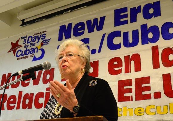 Joan Brown Campbell, exsecretaria general del Consejo de Iglesias de Cristo. FOTO: Bill Hackwell.