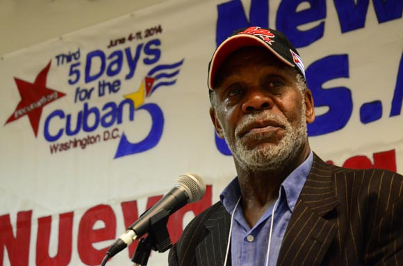 Danny Glover, actor estadounidense. FOTO: Bill Hackwell.