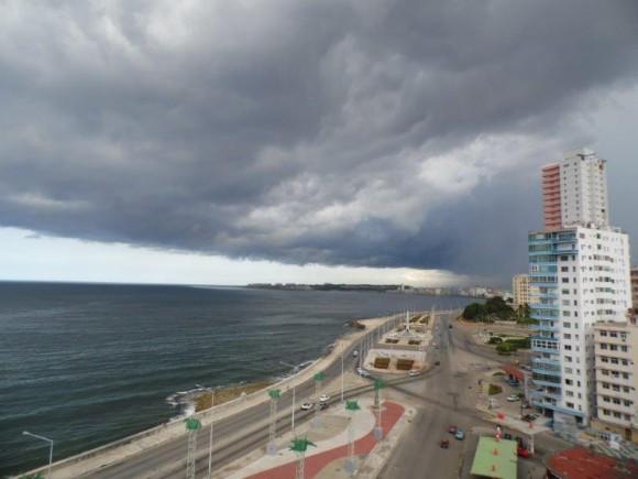 La Habana antes de la tormenta Foto: Martha Tamayo y Pablo Véliz