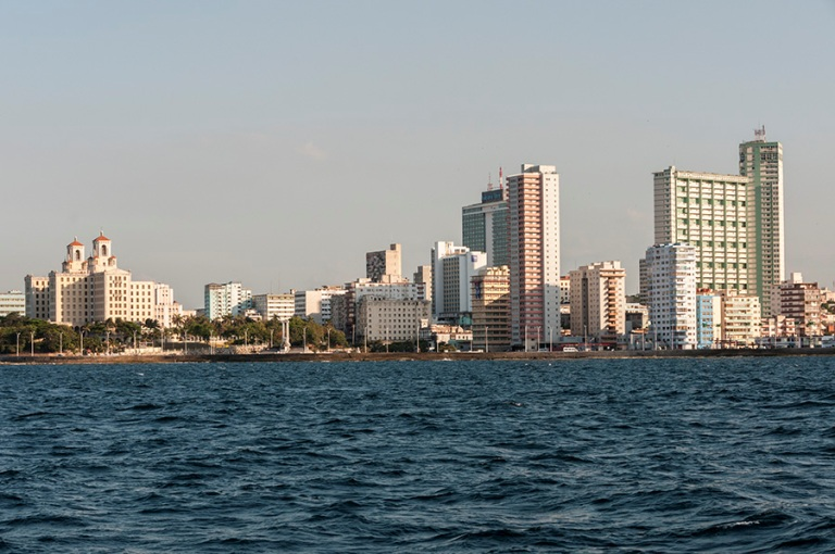 La Habana desde el mar