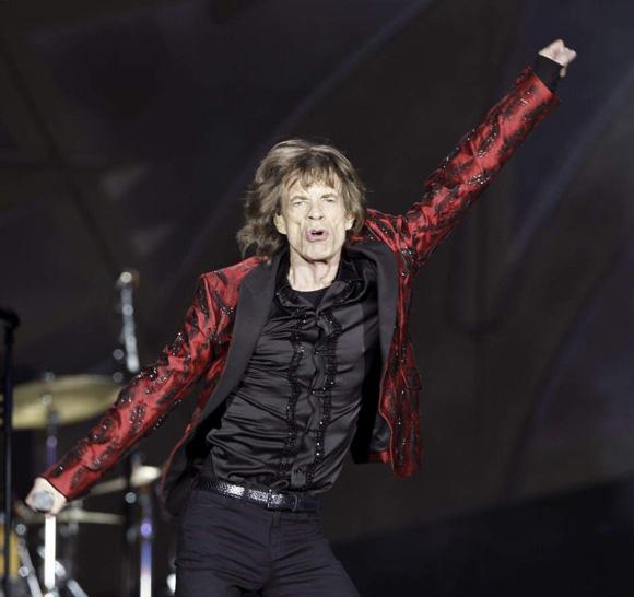 Mick Jagger, cantante de Rolling Stones. Foto: EFE.