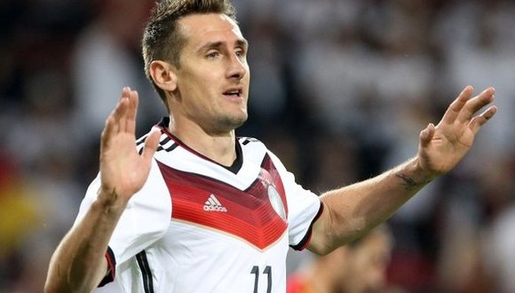 Miroslav Klose. Foto: Getty Images