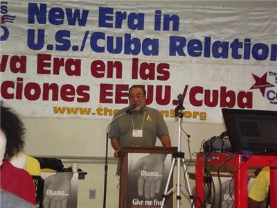 Fernando Morais habla en Jornada por Los Cinco
