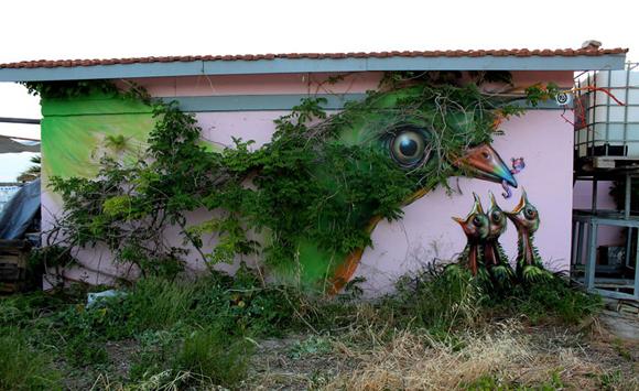 Pájaro, Atenas, Grecia