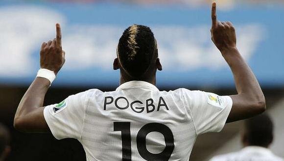 Paul Pogba. Foto: El Universal