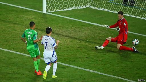 El gol de Peter Odemwingie.