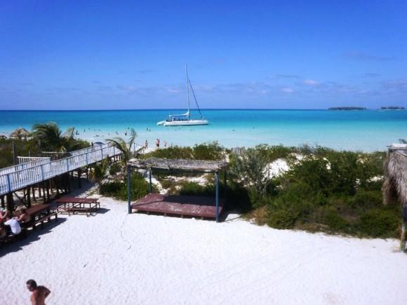 Playa Pilar, en Cayo Guillermo. Foto: Lizardo Salazar Tibau