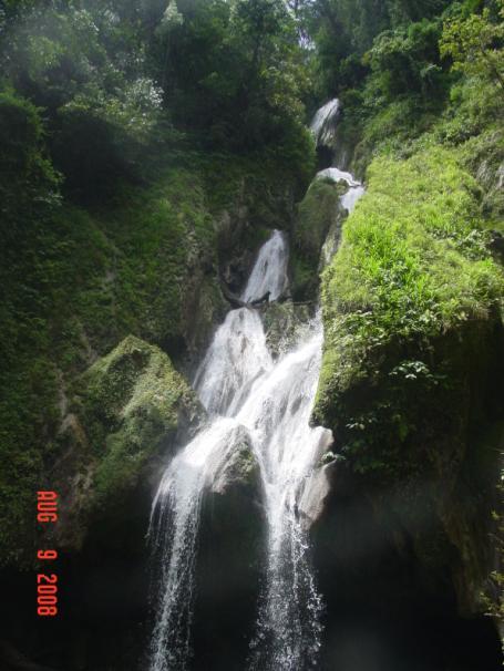 Salto Vega Grande. Foto: Yovany Guzmán López