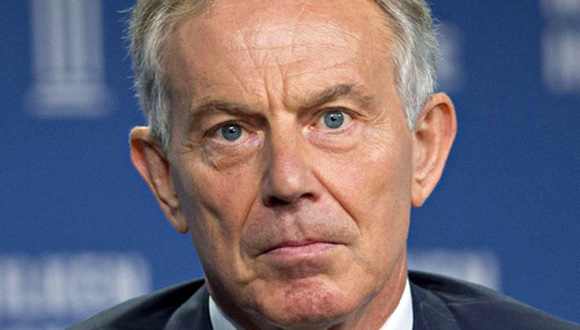 Tony Blair. Foto: AFP.