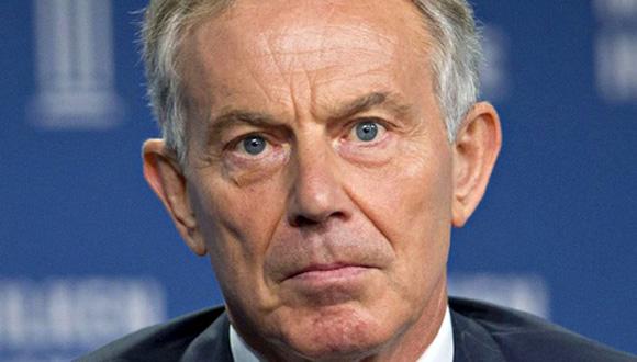 Tony Blair. Foto: AFP.