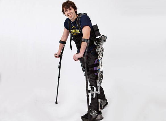 Un parapléjico caminará durante la ceremonia de inauguración del Mundial de fútbol de Brasil