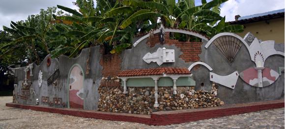 Los murales como tradición moderna de la ciudad de Sancti Spíritus. Serie Una ciudad testigo del tiempo.Foto: Daylén Vega/Cubadebate