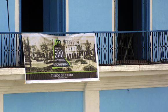 En cada espacio de Sancti Spíritus se evoca el aniversario 500. Serie Una ciudad testigo del tiempo. Foto: Daylén Vega/Cubadebate