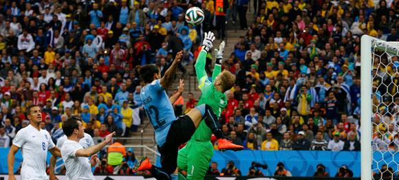 Uruguay batió 2×1 a Inglaterra en choque de alto vuelo