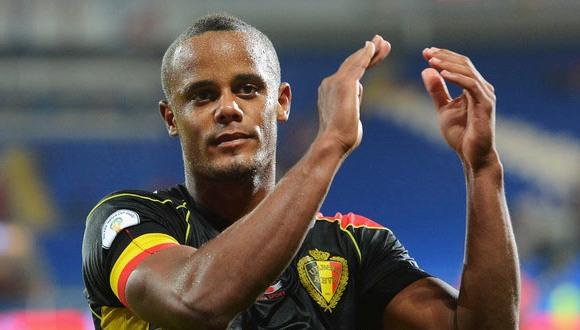 Vincent Kompany, el capitán de la selección belga debe ser uno de los mariscales del conjunto