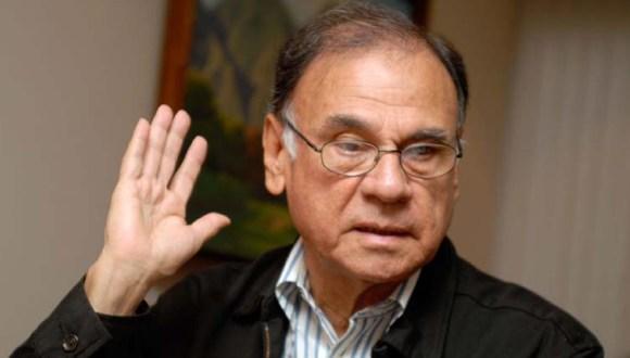 Alí Rodríguez Araque, Secretario General de la UNASUR y próximo embajador de Venezuela en Cuba.