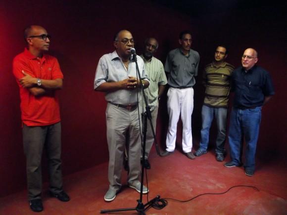 Homenaje a Juan Formell en La Feria de Arte en la Rampa. Foto: Marianela Dufflar