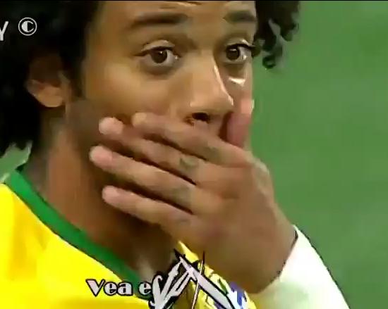 Marcelo Vieira da Silva, lateral izquierdo del Real Madrid.