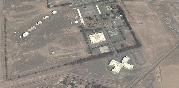 La base secreta británica utilizada para el espionaje de los cables submarinos está ubicada en Seeb, Omán.