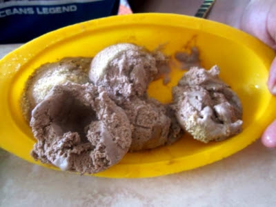bolas de helado adulteradas en coppelia