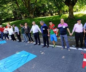 cadena humana en País Vasco
