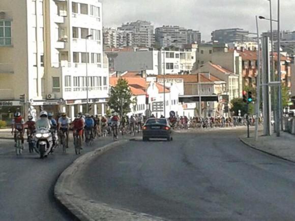 Caravana Ciclística por los Cinco y la Revolución Cubana en  Portugal, el 8 de junio de 2014. Foto: EmbaCuba Portugal/Cubadebate