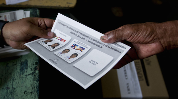 COLOMBIA-ELECTION-RUNOFF-VOTERS