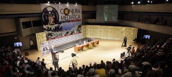 conjura mediatica contra venezuela