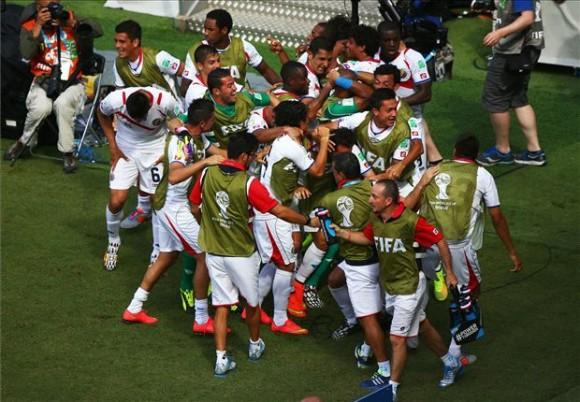 Costa Rica venció por la mínima diferencia a Italia
