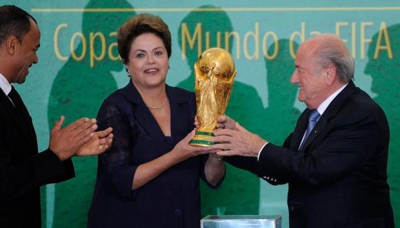 Presidenta de Brasil, Dilma Rousseff. FOTO: Reuters.