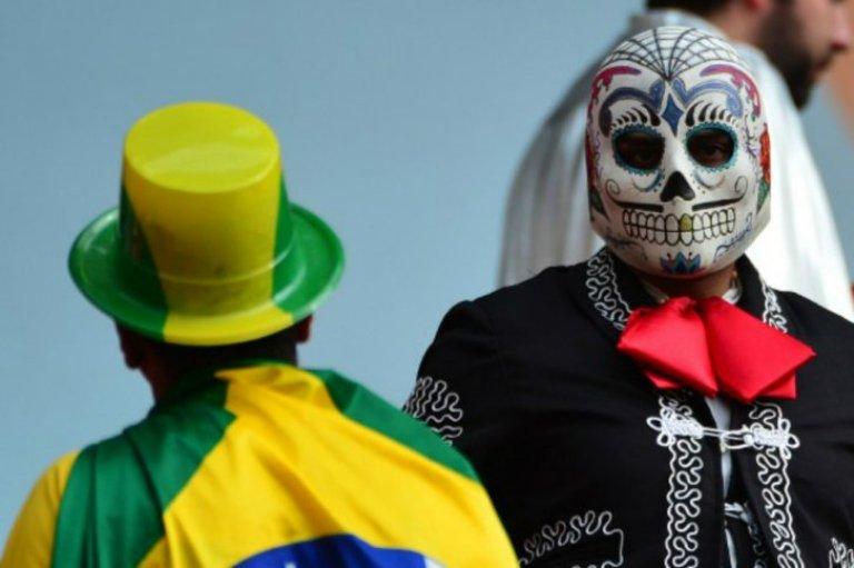 disfraces en el mundial de futbol 11