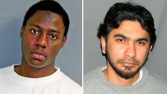 Umar Farouk Abdulmutallab, de izquierda, que intentó bombardear un avión, y Faisal Shahzad, quien trató de detonar un coche bomba en Times Square. Los intentos provocaron más de recogida de imágenes. Crédito Reuters; Servicio de Alguaciles de EE.UU., a través de Associated Press