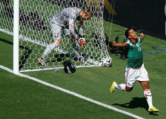 gio celebra el gol
