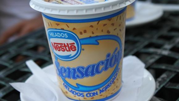 Este sabroso helado también es vítima de la estafa. Foto: