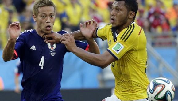 Colombia aplasta a Japón con un contundente 4-1
