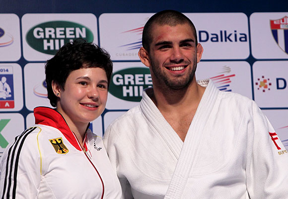 Laura Vargas y Toma Nikiforov seleccionados los mejores de  Grand Prix de Judo La Habana 2014. Foto: Ismael Francisco/CUbadebate.
