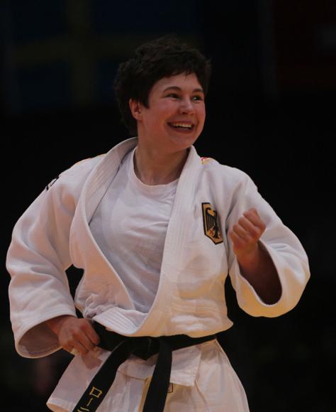 Laura Vargas  Koch de Alemania Oro en - 70 kg del Grand Prix Habana 2014. Foto: Ismael Francisco/Cubadebate.