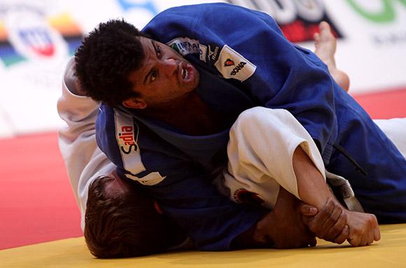 Hugo Pessanha de Brasil ganó bronce en  Grand Prix de Judo La Habana 2014. Foto: Ismael Francisco/Cubadebate.