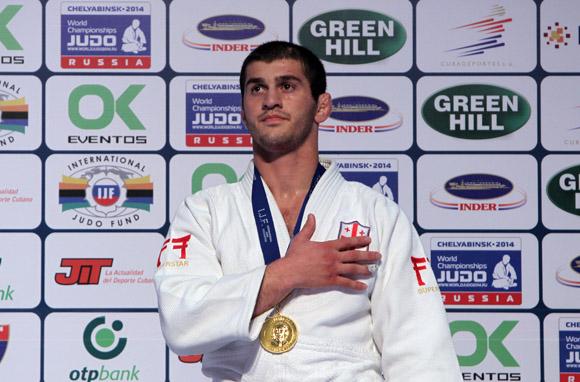 Avlandili Tchrikishvili de Georgia, gano oro en -81 kg del Grand Prix Habana 2014. Foto: Ismael Francisco/Cubadebate.