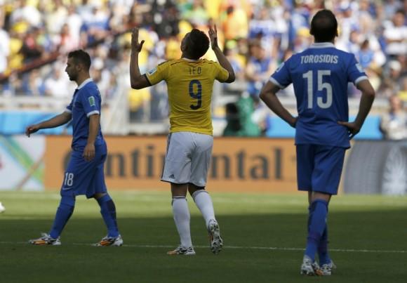 juego colombia grecia mundial futbol 201413