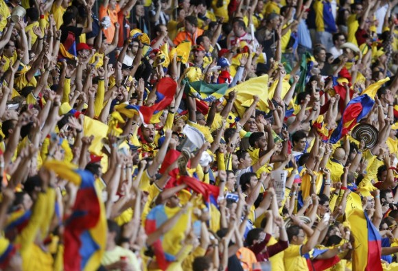 juego colombia grecia mundial futbol 20142