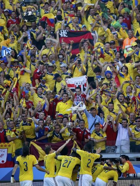 juego colombia grecia mundial futbol 20143