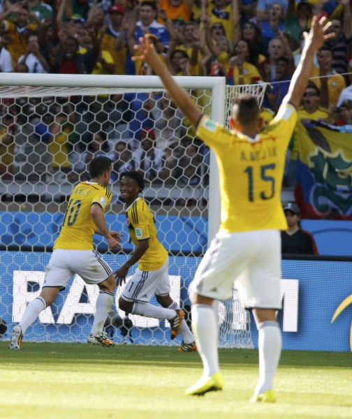 juego colombia grecia mundial futbol 20145